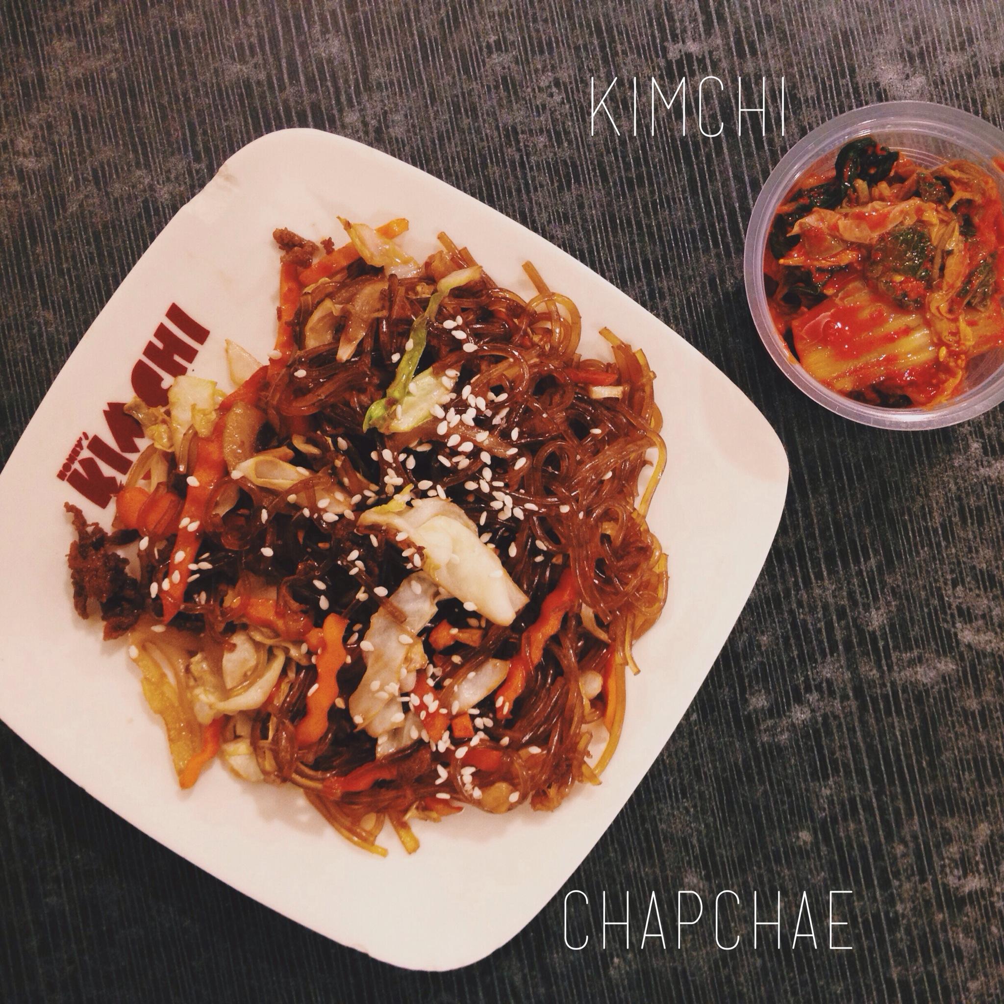 honey's kimchi chapchae