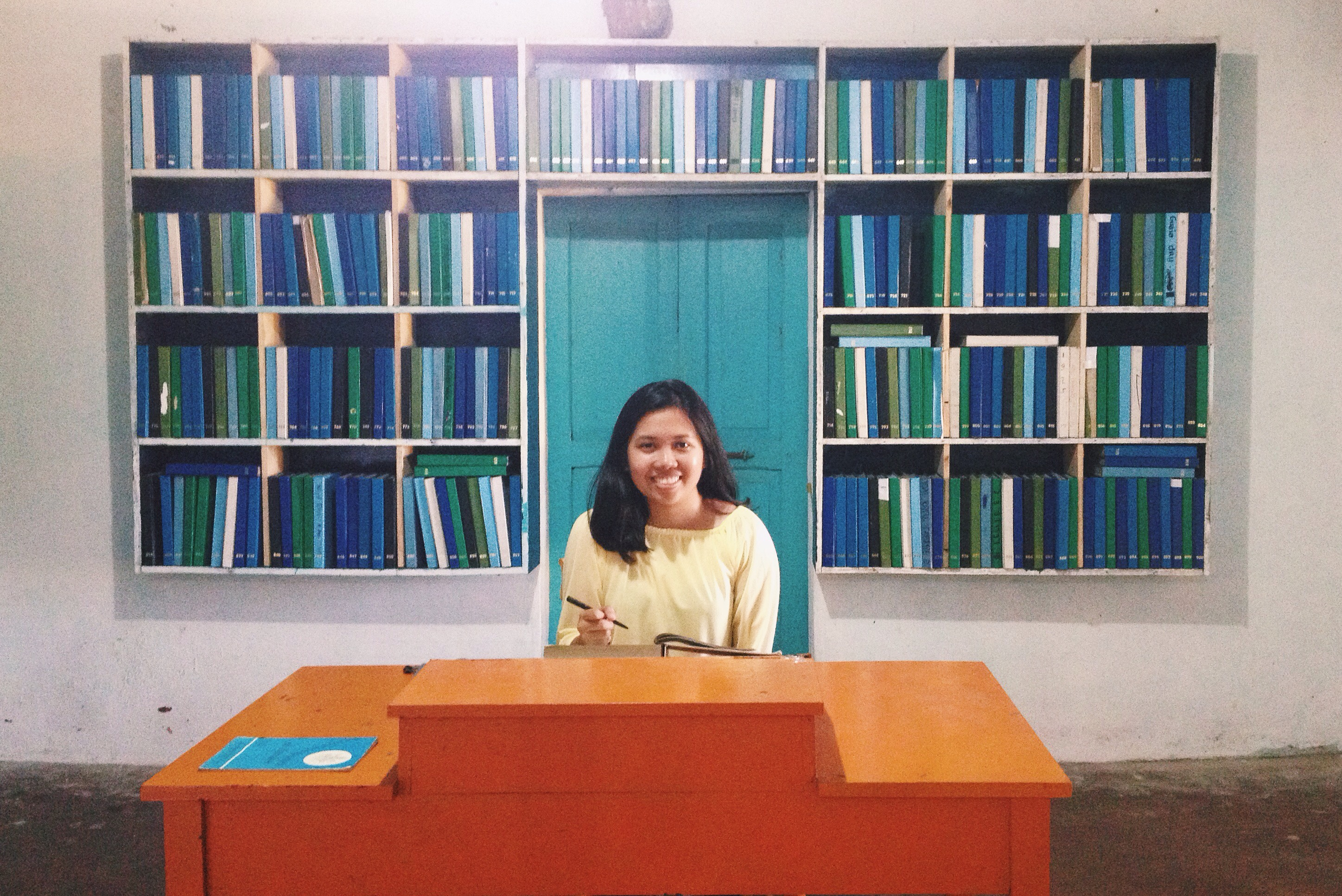 blank book library batanes