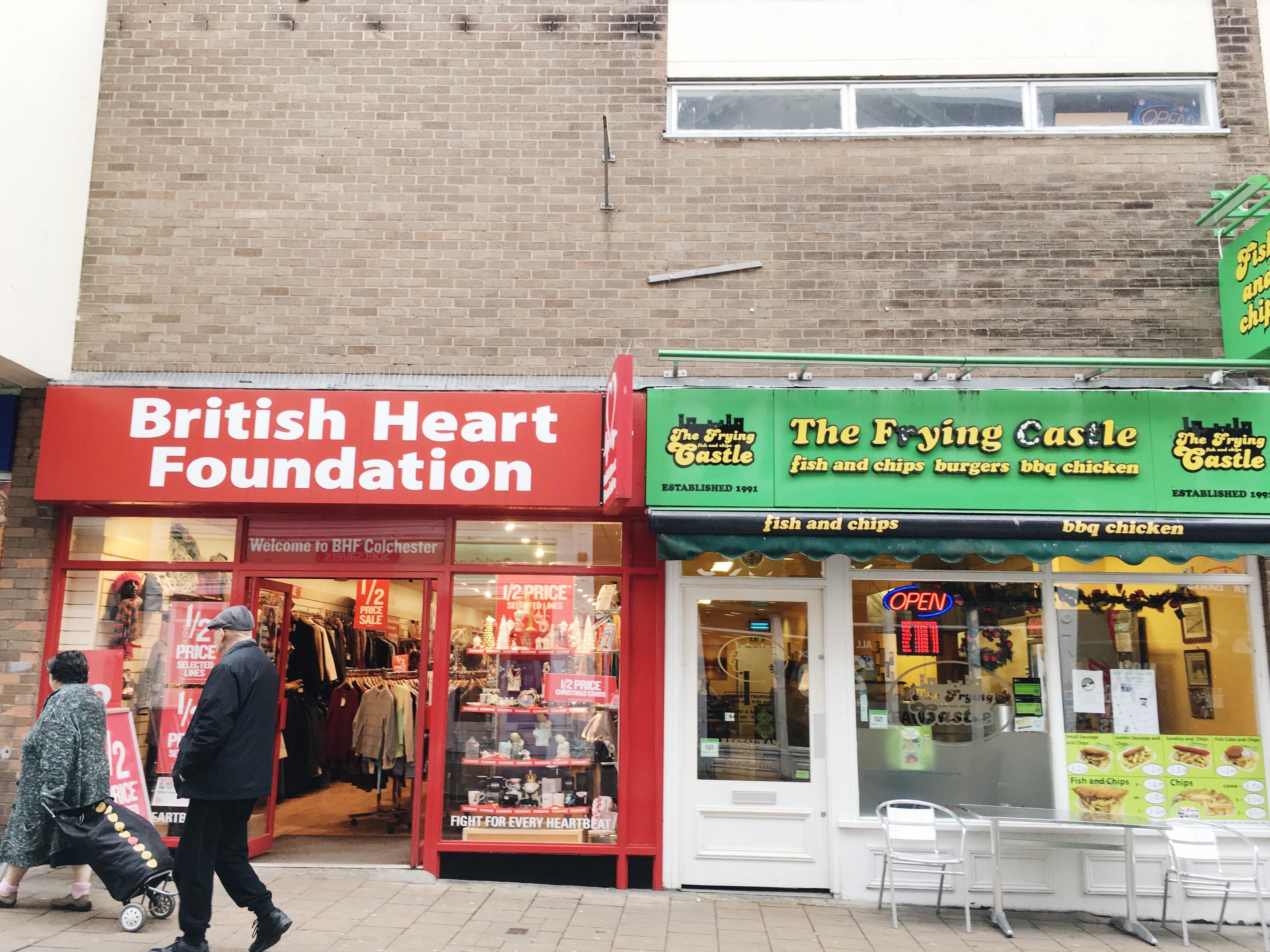 charity shop UK